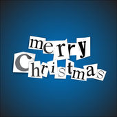 Merry Christmas - vector illustration — Stock Vector