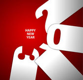 Happy New Year 2013 vector card — Stock Vector