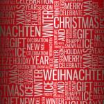 Abstract Christmas card — Stock Vector #6286354