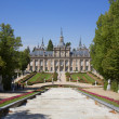 Palace in segovia - Stock Photo