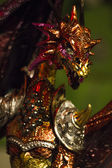 Krásné dračí socha — Stock fotografie