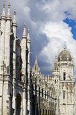 Mosteiro dos Jeronimos monument — Stock Photo