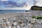 Přírodní pobřeží algarve — Stock fotografie