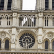 Notre Dame Cathedral in Paris, France — Photo