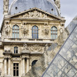 Stock Photo: Museum of Louvre in Paris, France