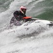 Stock Photo: Jet boat racing