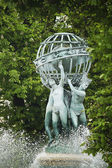 Garden of Luxembourg statue in Paris, France — Photo