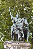 Statue of Charlemagne, Paris, France — Stock Photo