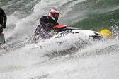 Jet boat racing — Stock Photo
