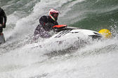 Jet boat racing — Stock Photo