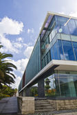Moderní budova sklo — Stock fotografie