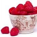 Tasty raspberries — Stock Photo