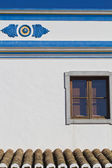 Traditional house of Algarve — Stock Photo