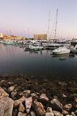 Marina with recreational boats — 图库照片