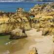 Wonderfull Portuguese beach — Stock Photo