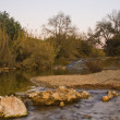 Stock Photo: Algibre river stream
