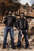 Silahlı çete üyeleri — Stok fotoğraf