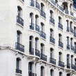 Stock Photo: Typical French buildings