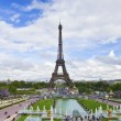 Stock Photo: Iconic Eiffel Tower