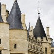 Historical Conciergerie prison in Paris, France — Stock Photo