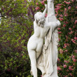 Stock Photo: Beautiful statues located on Avenue des Champs-Elysees in Paris, France