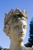 Roman head statue — Stock Photo