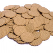 Pile of biscuits — Stock Photo