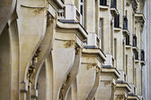 Typical French buildings — Stock Photo