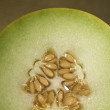 Sliced melon — Stockfoto