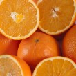 Bunch of oranges — Stock Photo #25145315