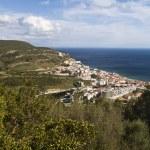Coastal Sesimbra town — Stock Photo #25158945