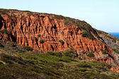 Cliff geologic formation — Stock Photo