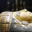 Egyptian mummy casket — Stock Photo