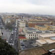 Wide view of Rome city from Vatican — Stock Photo