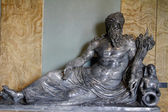 Reclining statue of river Nile — Stock Photo