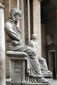 Antigua estatua romana — Foto de Stock