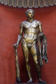 Starożytne rzymskie brąz statua — Zdjęcie stockowe