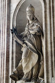 Ancient roman statue of Mother Church — Stock Photo