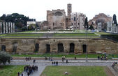Palatino ruinerna i rom, italien — Stockfoto