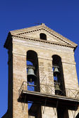 Bell tower of the Basilica of St. Mary of the Altar of Heaven — Stock Photo