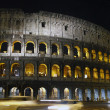 Illuminated Coliseum in Rome, Italy — Stock Photo