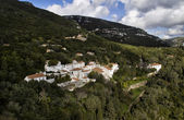 Landscape of National park of Arrabida in Portugal — Stock Photo