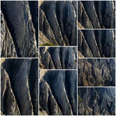Cliff sections — Stock Photo