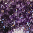 Natural violet amethyst — Stock Photo