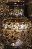 Luxury moroccan pots — Stock Photo