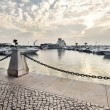 Marina of Faro, Portugal — Stock Photo