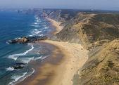 Wide view of the beautiful coastline area — Stock Photo