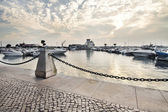 Marina of Faro, Portugal — Stock Photo