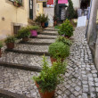 Stock Photo: Streets of Sintra town, Portugal