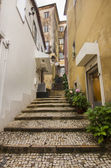 Streets of Sintra town, Portugal — Stockfoto